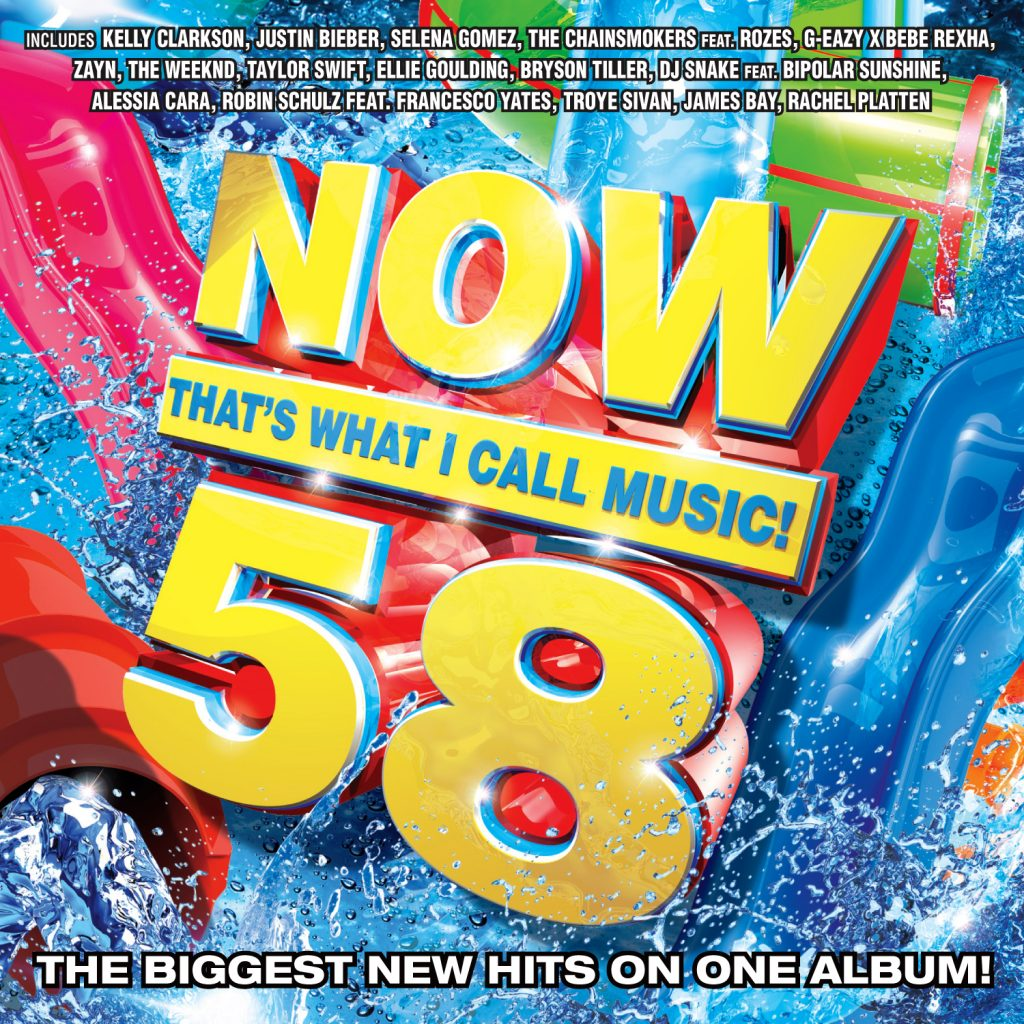 NOW That's What I Call Music! Vol 58-cover art