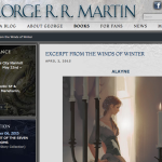 Fun Reads: New Chapter From George R R Martin's Upcoming Book!